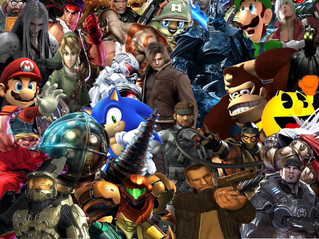 Video game collage of champions. | This is my awesome collec… | Flickr