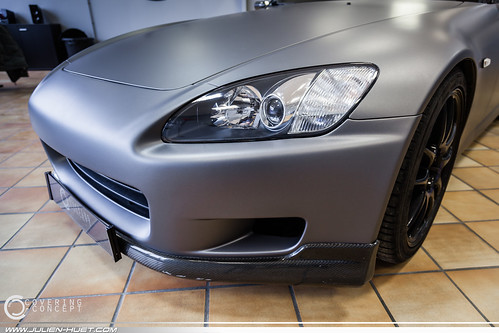 honda s2000 gris mat by covering concept honda s2000 by co flickr. Black Bedroom Furniture Sets. Home Design Ideas
