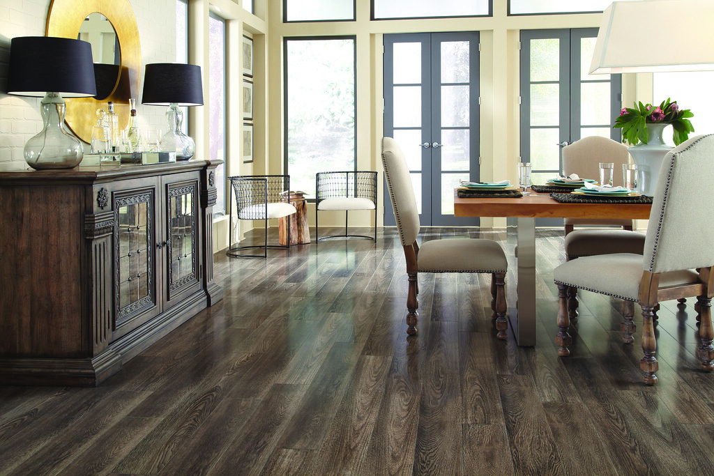Mannington Laminate Barnhouse Oak With A Rich Fumed Oak