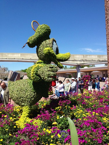 Donald in topiary | by Erin *~*~*