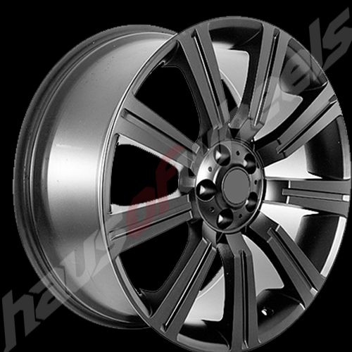 Rf 358 Range Rover Matte Flat Satin Black Replica Wheel Wh