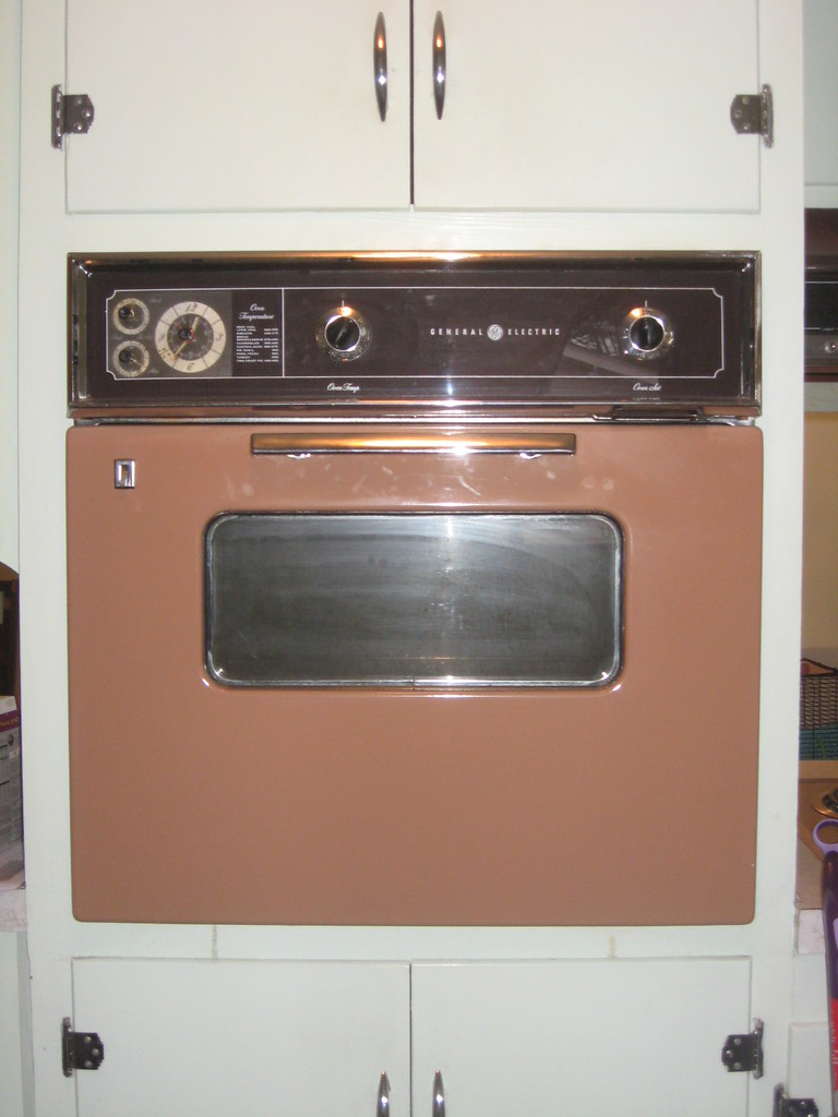 Old Electric Oven ~ General electric built in oven just bought our first