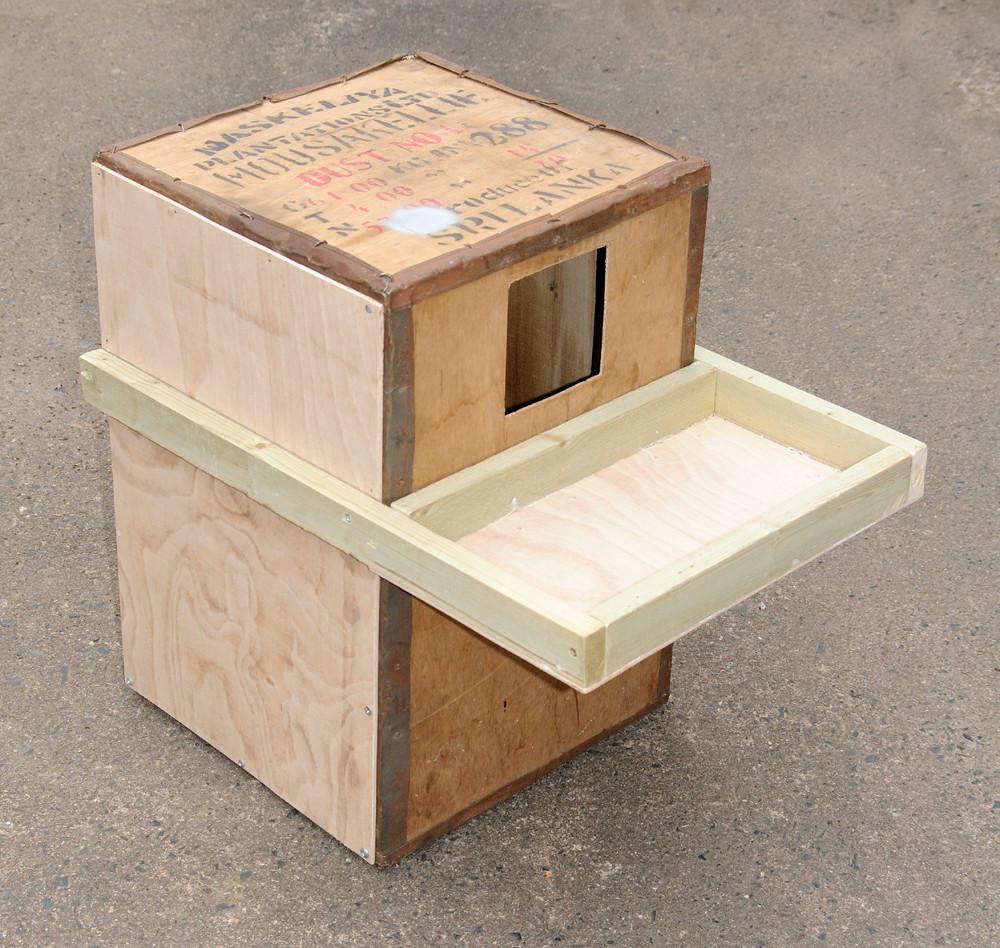 Owl Nesting Box Barn Owl Nest Box | by