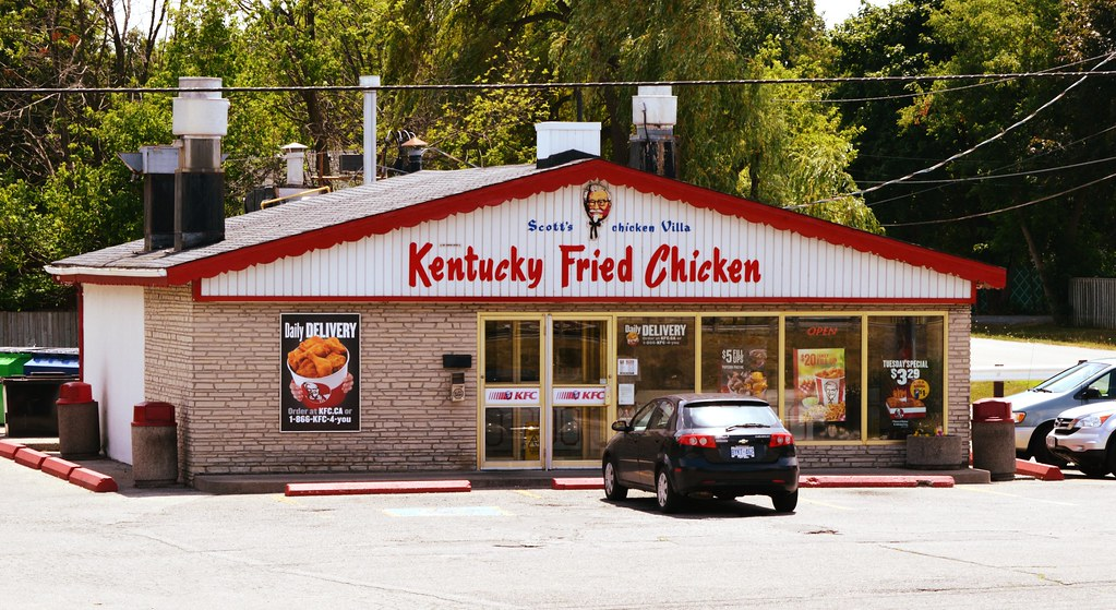 1960s Style Kentucky Fried Chicken Franchise Scotts Ch Flickr