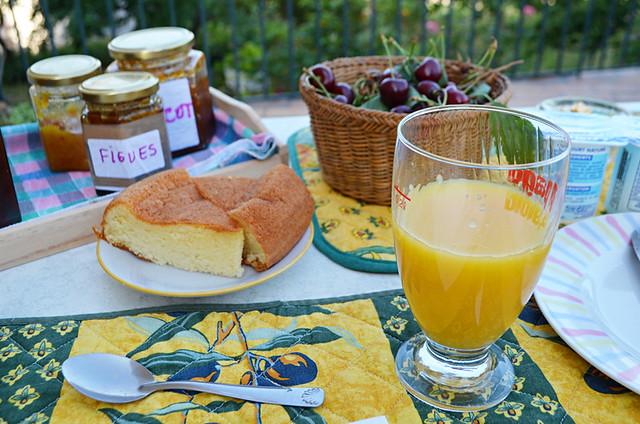 Breakfast at Antonia's, Olmi Cappella, Corsica