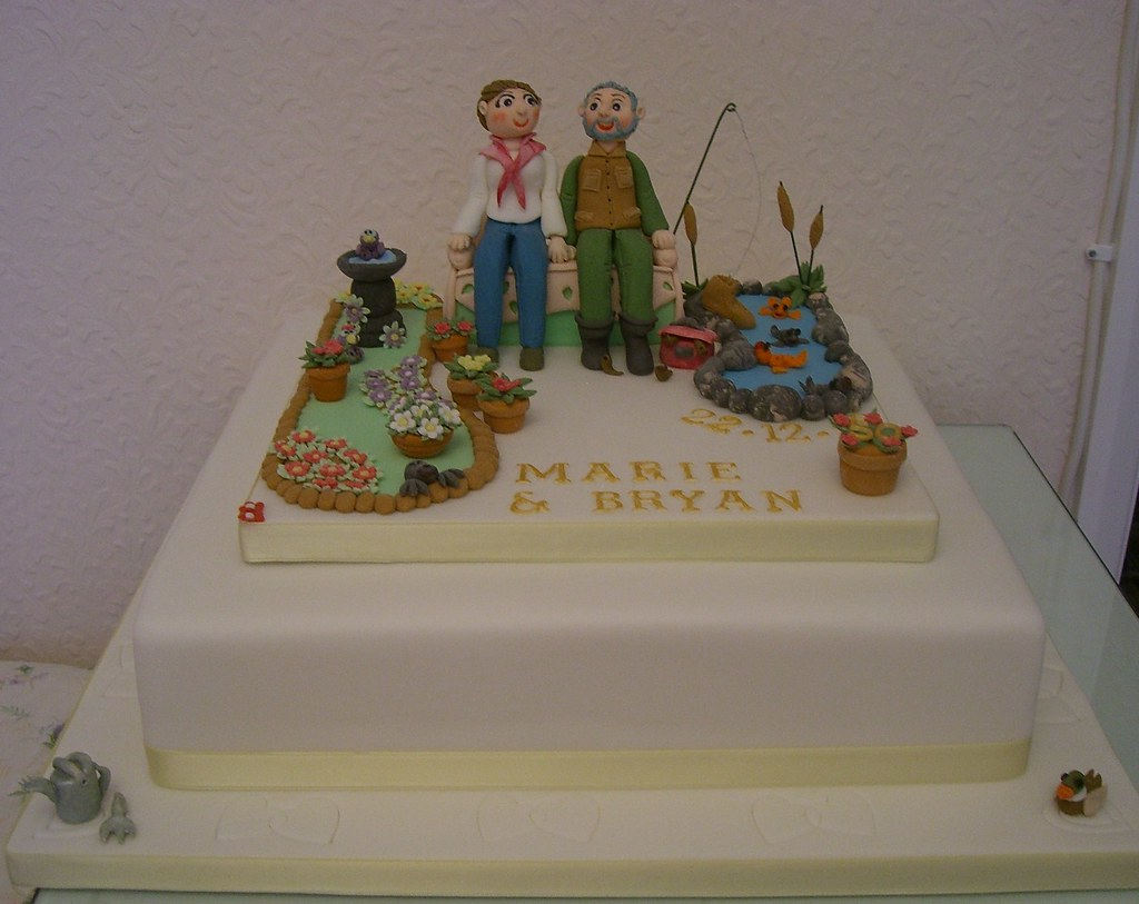 golden wedding cake messages 50th golden wedding anniversary cake nearly 14762