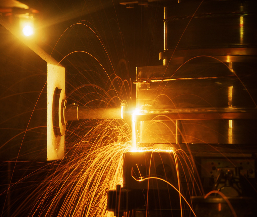 Electron beam welding | TWI's expertise in electron beam (EB… | Flickr