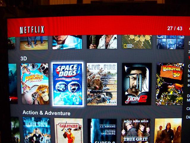 Netflix 3d