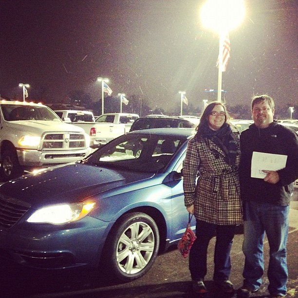 Our New Car: A Certified Pre-owned 2011 Chrysler 200! Very
