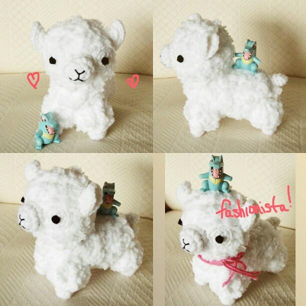 Alpaca Amigurumi Crochet Patterns : #alpaca #amigurumi #crochet #kawaii #cute #hellohappy Flickr