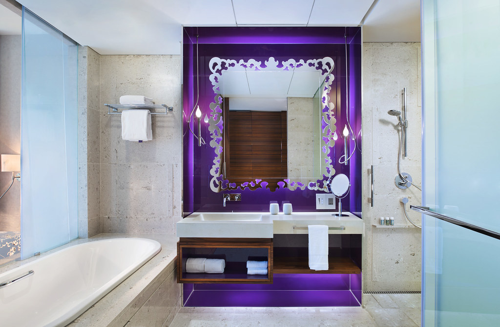 W singapore sentosa cove fabulous room bathroom for W hotel in room dining menu singapore