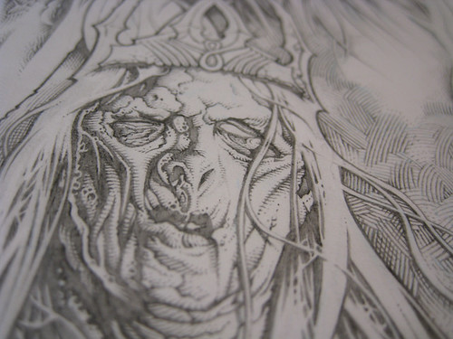 SutfinLOTR_NazgulKings_Detail03 | by Mike Sutfin