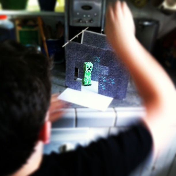 This Is Happening In Our Kitchen #unschooling #minecraft