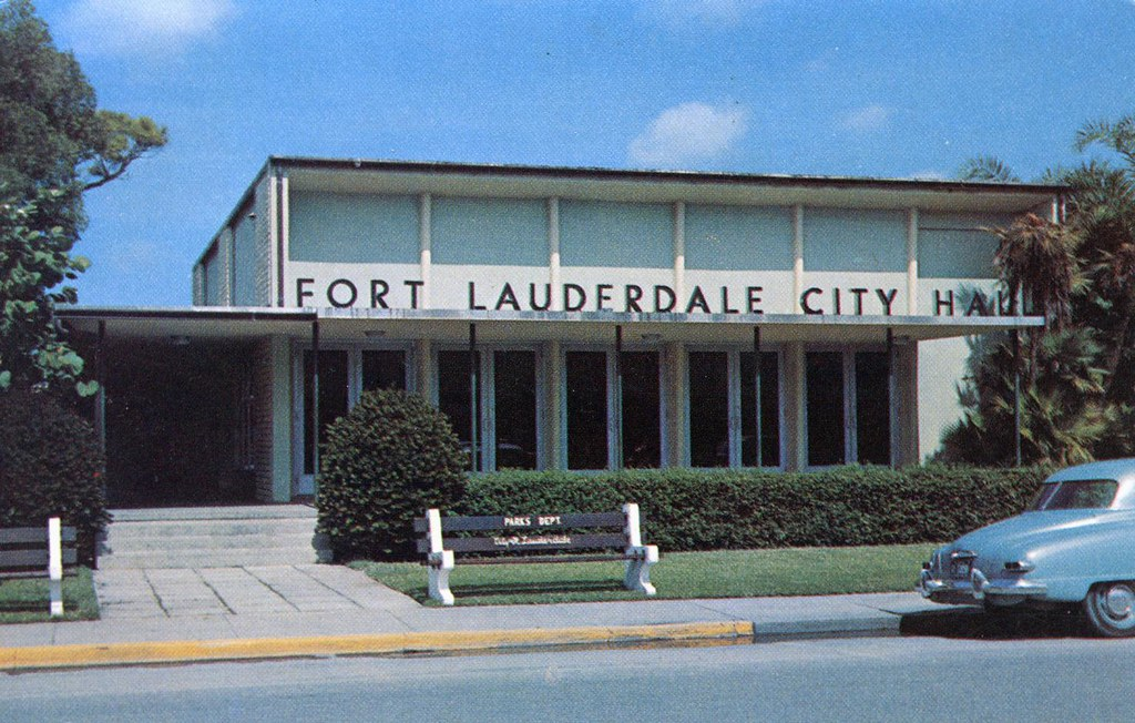 City Hall Fort Lauderdale Fl William Bird Flickr