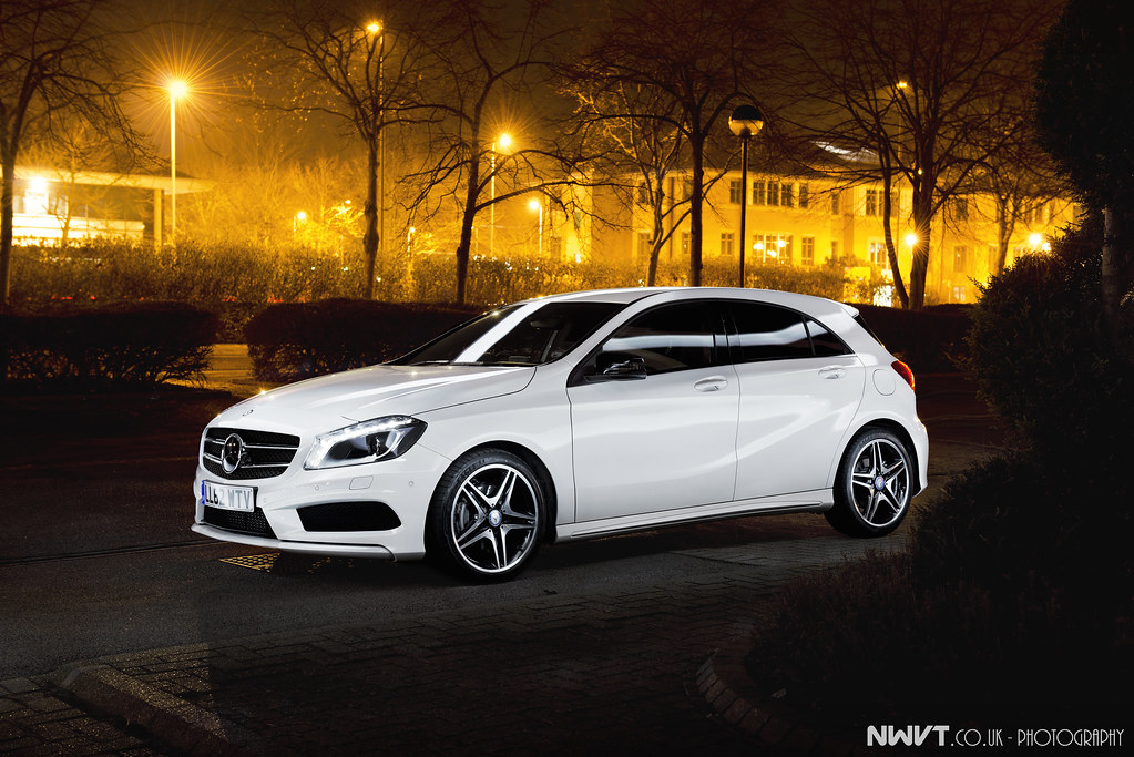2013 mercedes benz a class 200 cdi amg in cirrus white nig flickr. Black Bedroom Furniture Sets. Home Design Ideas
