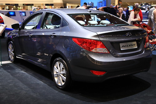 2013 hyundai accent gls at the 2013 chicago auto show flickr. Black Bedroom Furniture Sets. Home Design Ideas