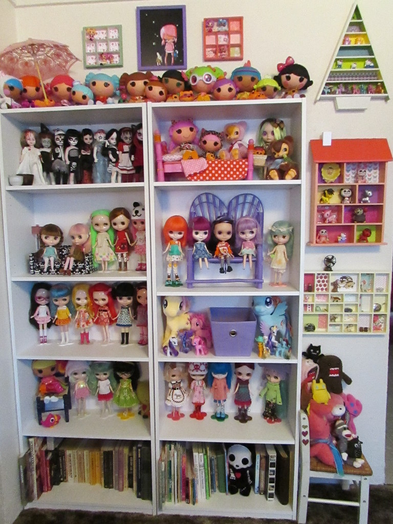 Big Doll Shelf And Little Shelves Finished For The Most