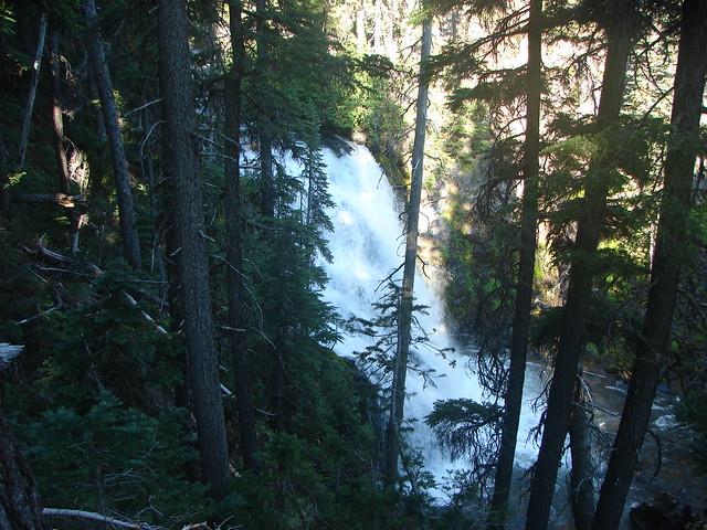 Middle Tumalo Falls