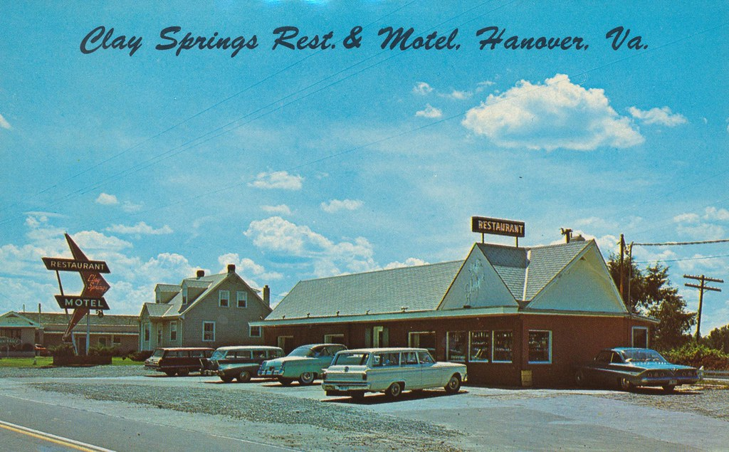 Clay Springs Restaurant, Motel & Gift Shoppe - Hanover, Virginia