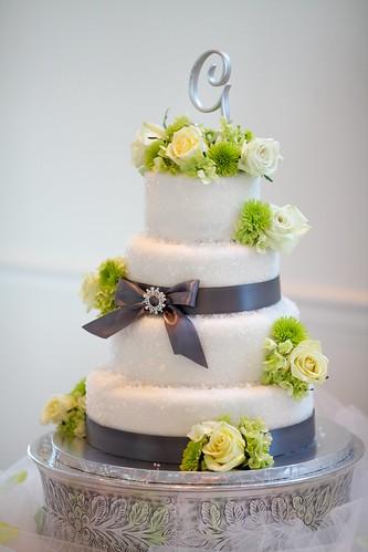 sugar crystal wedding cake this was my own wedding cake i flickr. Black Bedroom Furniture Sets. Home Design Ideas