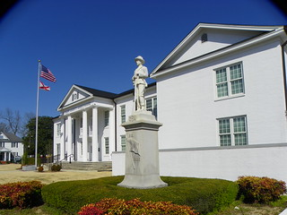 St. Clair County Clourthouse and Confederate Monument | by J. Stephen Conn