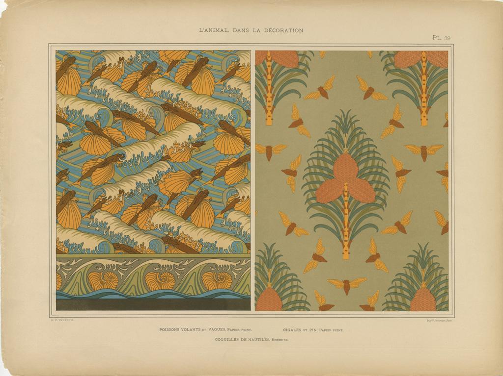 Decoration Papier Peint Identique Tissus