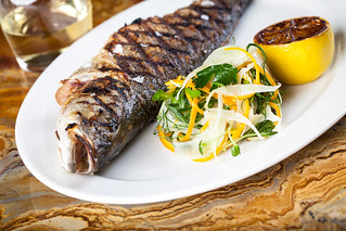 Whole Grilled Branzino | by Vox Solid Communications LV