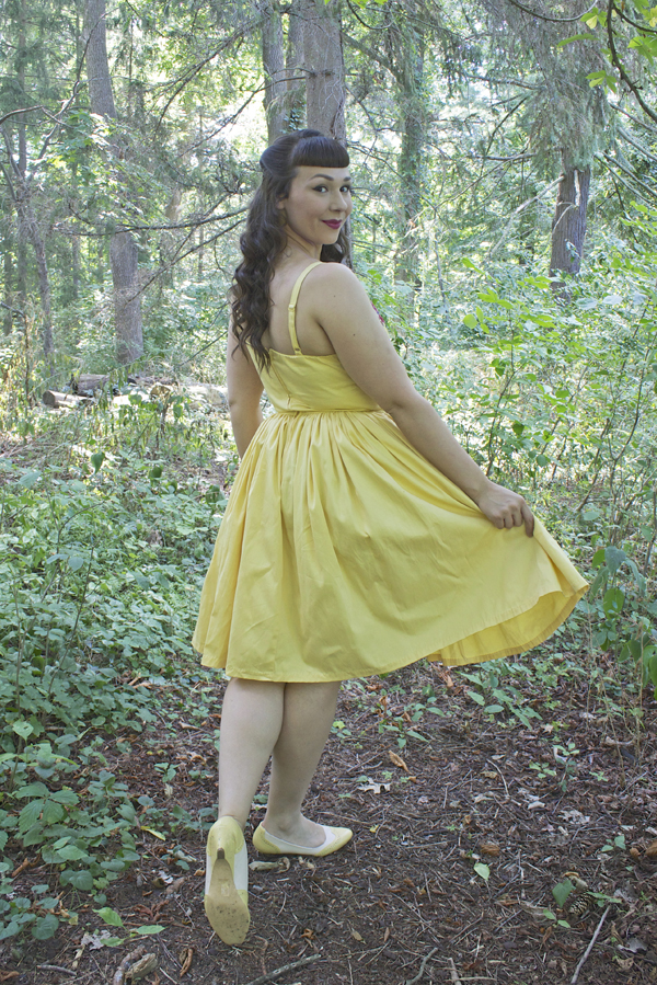 jenny dress pinup girl