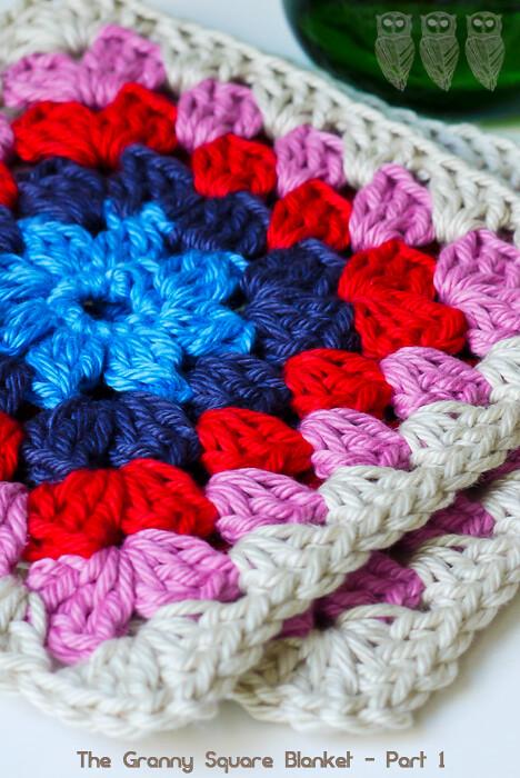 9 Square Crochet Blanket