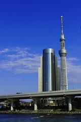 Tokyo Sky Tree from Azumabashi Bridge