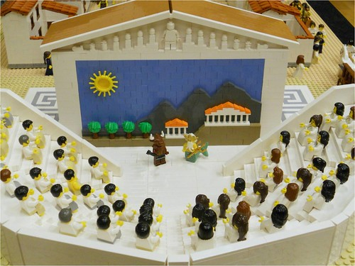 LEGO Ancient Greek Theatre | by Lasse Vestergård