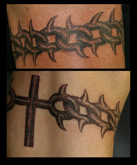 Inspiration tattoos flickr photo sharing for Chain tattoo on arm