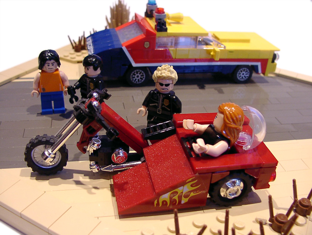 Mad Max Motorcycle >> Mad Max Trike scene | This is my long wanted modeling from t… | Flickr