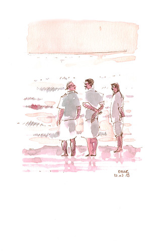 Men in the Beach | by omar.paint