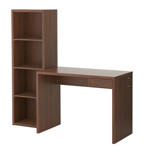 Ikea Lasse Office Desk Amp Bookshelf
