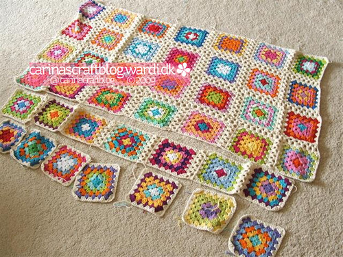 Crochet tutorial: joining granny squares 1 Tutorial update ...