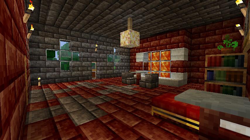 Minecraft Hotel Red Room Joey B Flickr