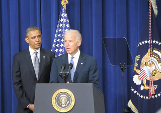 Vice President Biden and President Obama, January 16, 2013. | by WilliamKoenig