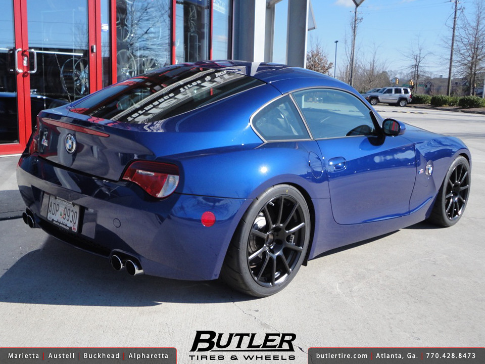 Bmw Z4 M Coupe With 18in Beyern Bavaria Wheels