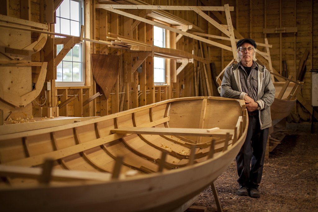 Master Boat Builder, Wooden Boat Museum of Newfoundland an… | Flickr
