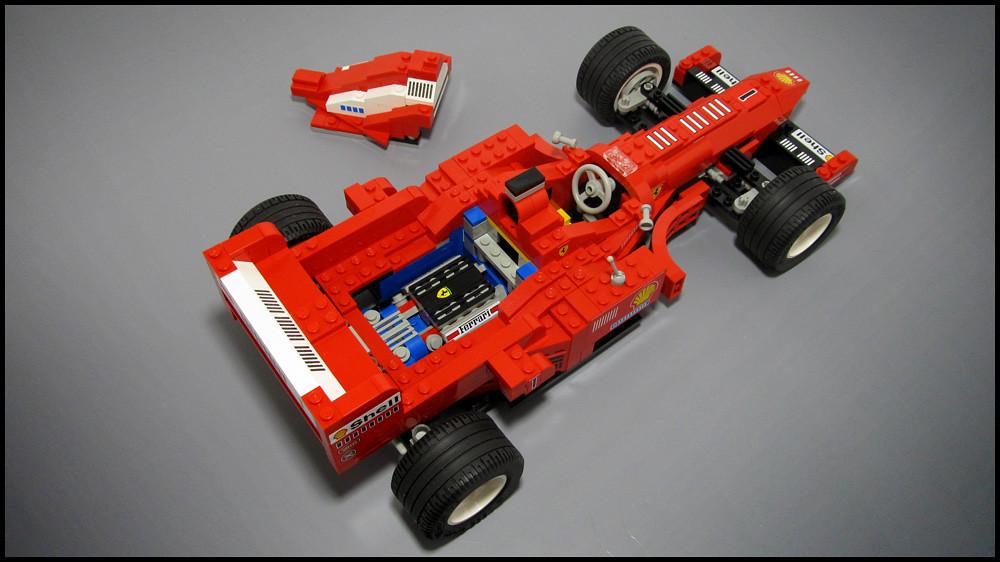 Ferrari Formula 1 Racing Car Lego 2556 I Recently
