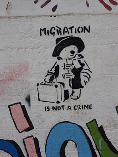 migration is not a crime | by aestheticsofcrisis