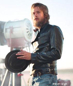 Brad pitt en moto con barba | I love this photo. Me ... Brad Pitt