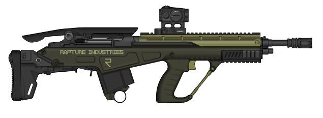 Rapture Ind. - M14 Bullpup | I might have gone a bit crazy ... M14 Bullpup