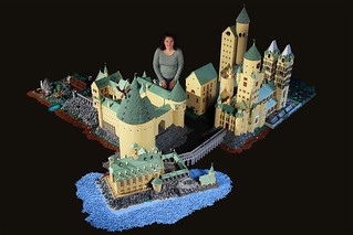 Alice Finch and her castle | by Bippity Bricks