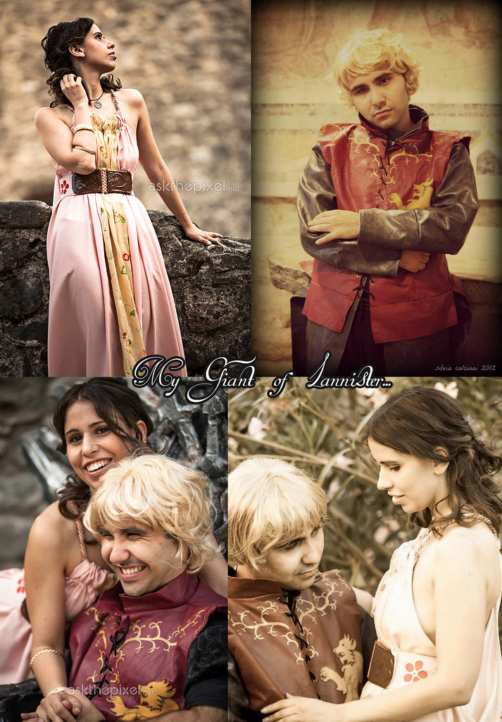 Tyrion and Shae | Associazione Game of Thrones Cosplay ... Game Of Thrones Shae And Tyrion