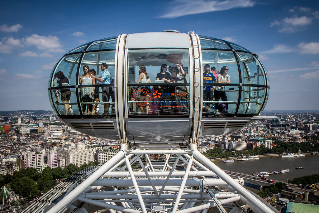 A Capsule On The London Eye Taken From Inside A Capsule On Flickr