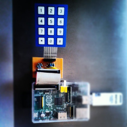 Raspberry #Pi membrane (matrix) keypad. Longer hours with the circuitry in fear of bricking it. The code took half day of work instead | by naiaru