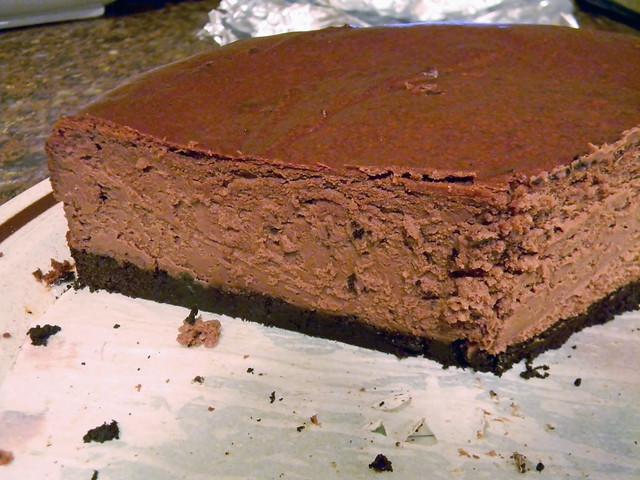 Deep Dark Chocolate Cheesecake | Flickr - Photo Sharing!