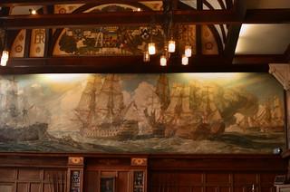 Murals Dining Room Borough Polytechnic